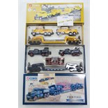 """Two Corgi Classics Limited Edition scale models sets """"Pickfords Diamond T Ballast (x 2) with 24"""