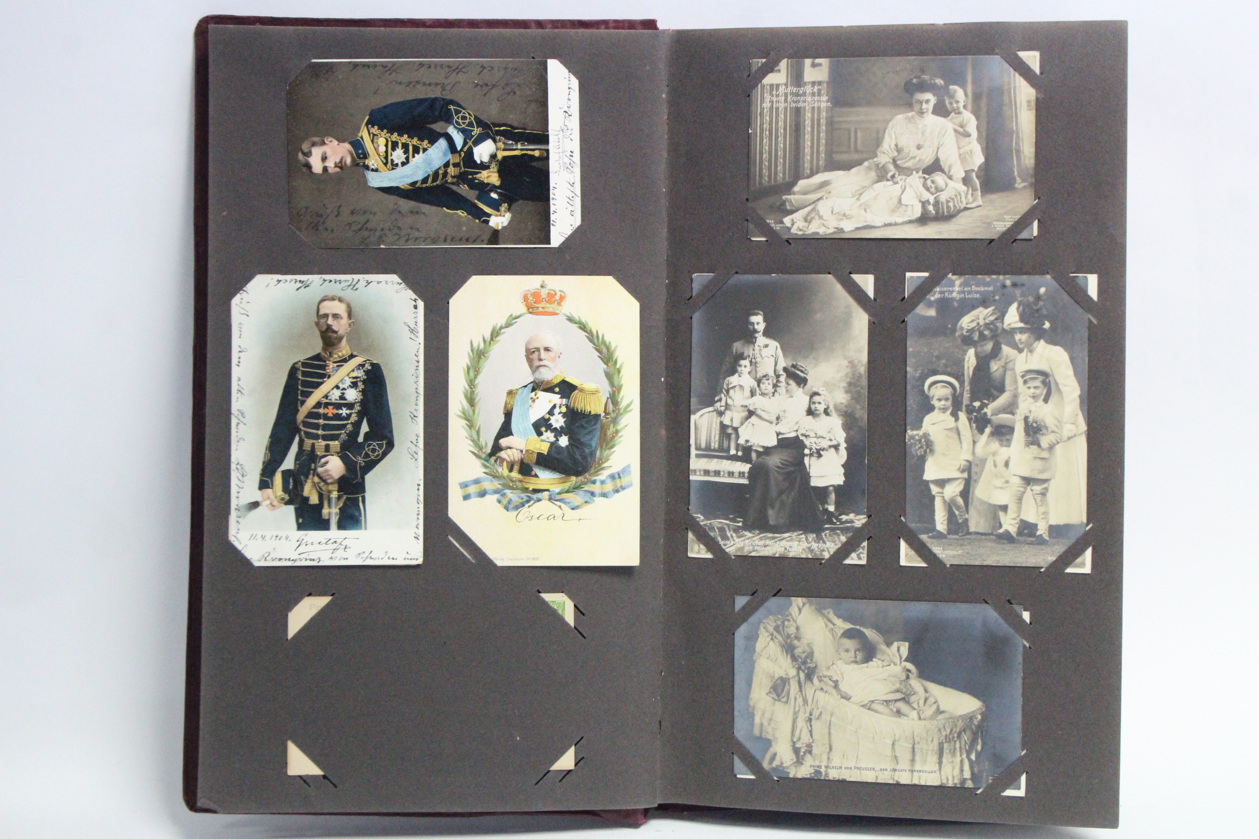 Lot 117 - An album of approximately one hundred & fifty postcards, early-mid 20th century, British & foreign