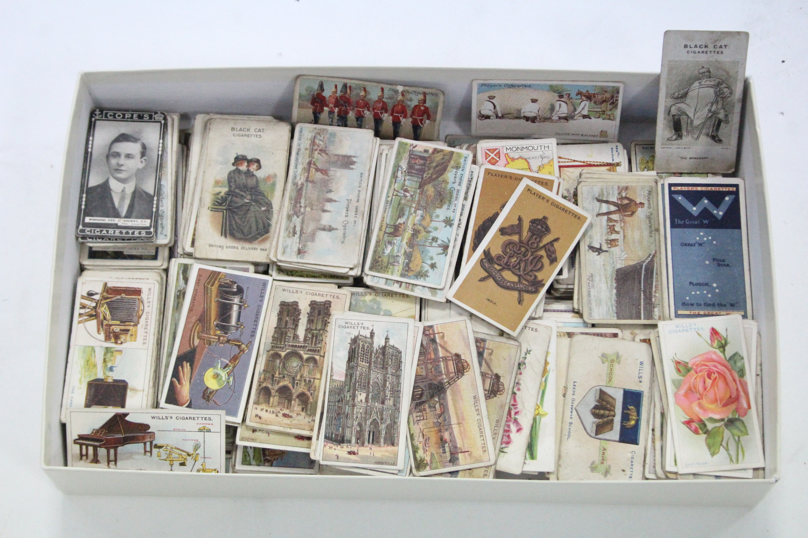 Lot 138 - Approximately five hundred & seventy various cigarette cards by John Player, W. D. & H. O. Wills,