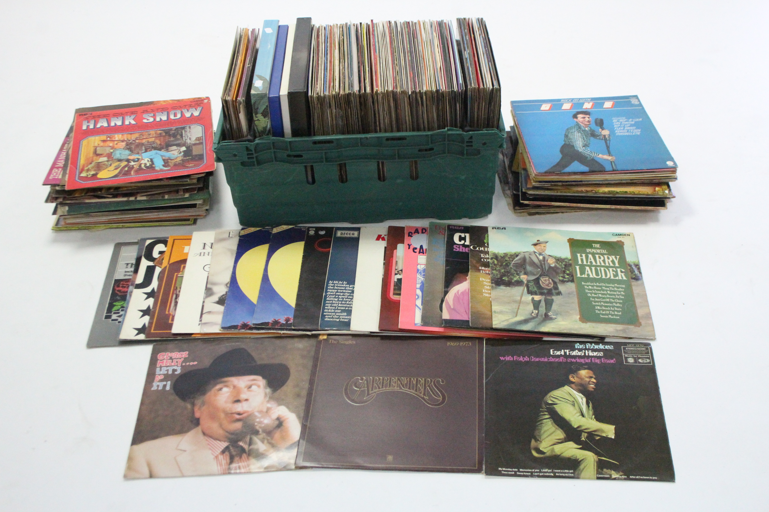 Lot 50 - Approximately two hundred various records – mostly Jazz & Swing.