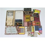 "The Monster Compendium of Metal Puzzles"", boxed, circa early-mid 20th century; together with various"