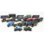 Approximately twenty various Corgi scale model lorries, un-boxed.