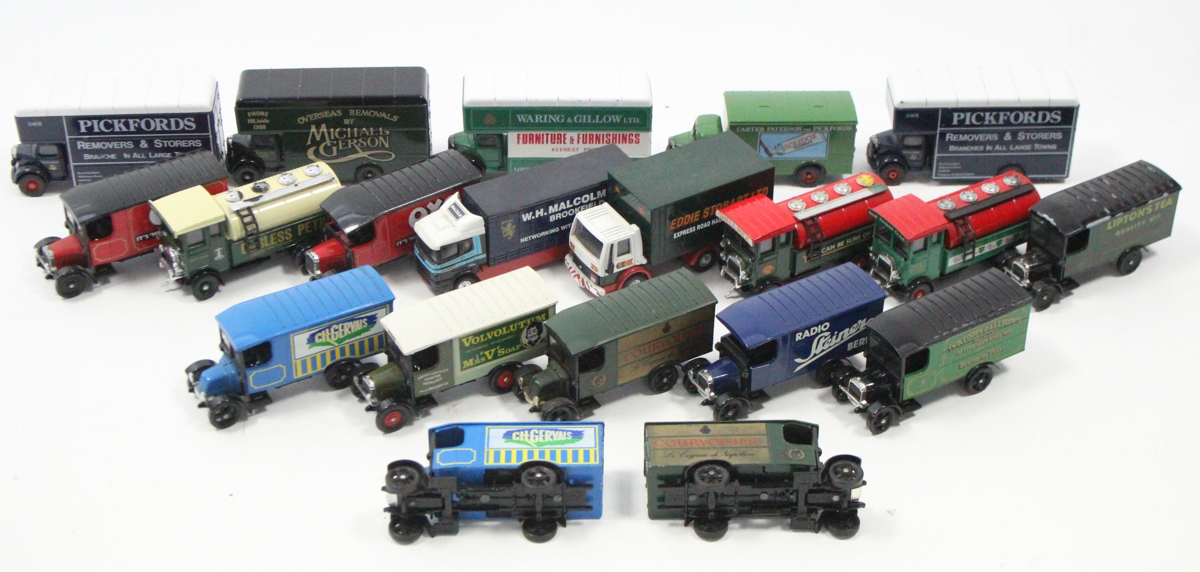 Lot 269 - Approximately twenty various Corgi scale model lorries, un-boxed.