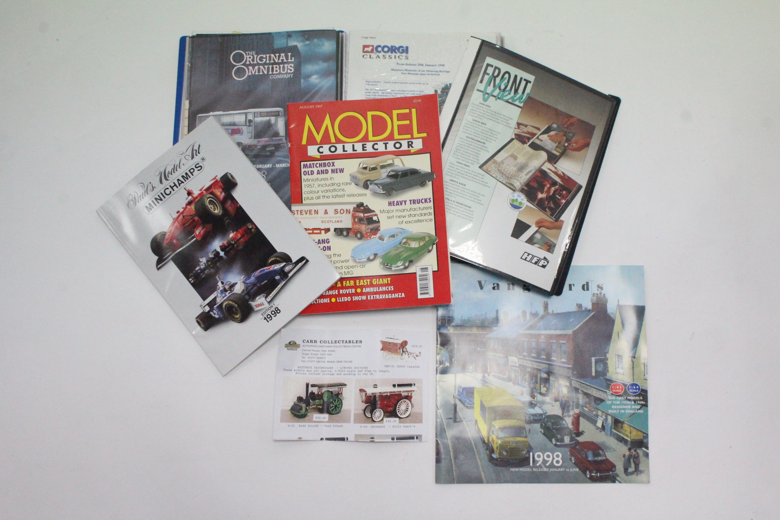 Lot 248 - Various Corgi scale model vehicles, all boxed; & various model collector's magazines.