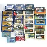 Three Corgi Classics gold plated model cars; four Corgi scale model Minis; & various other Corgi