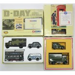 "Two Corgi Classics Limited Edition sets ""D-Day 50th Anniversary Operation Overlord"" (Ltd. Ed. No."