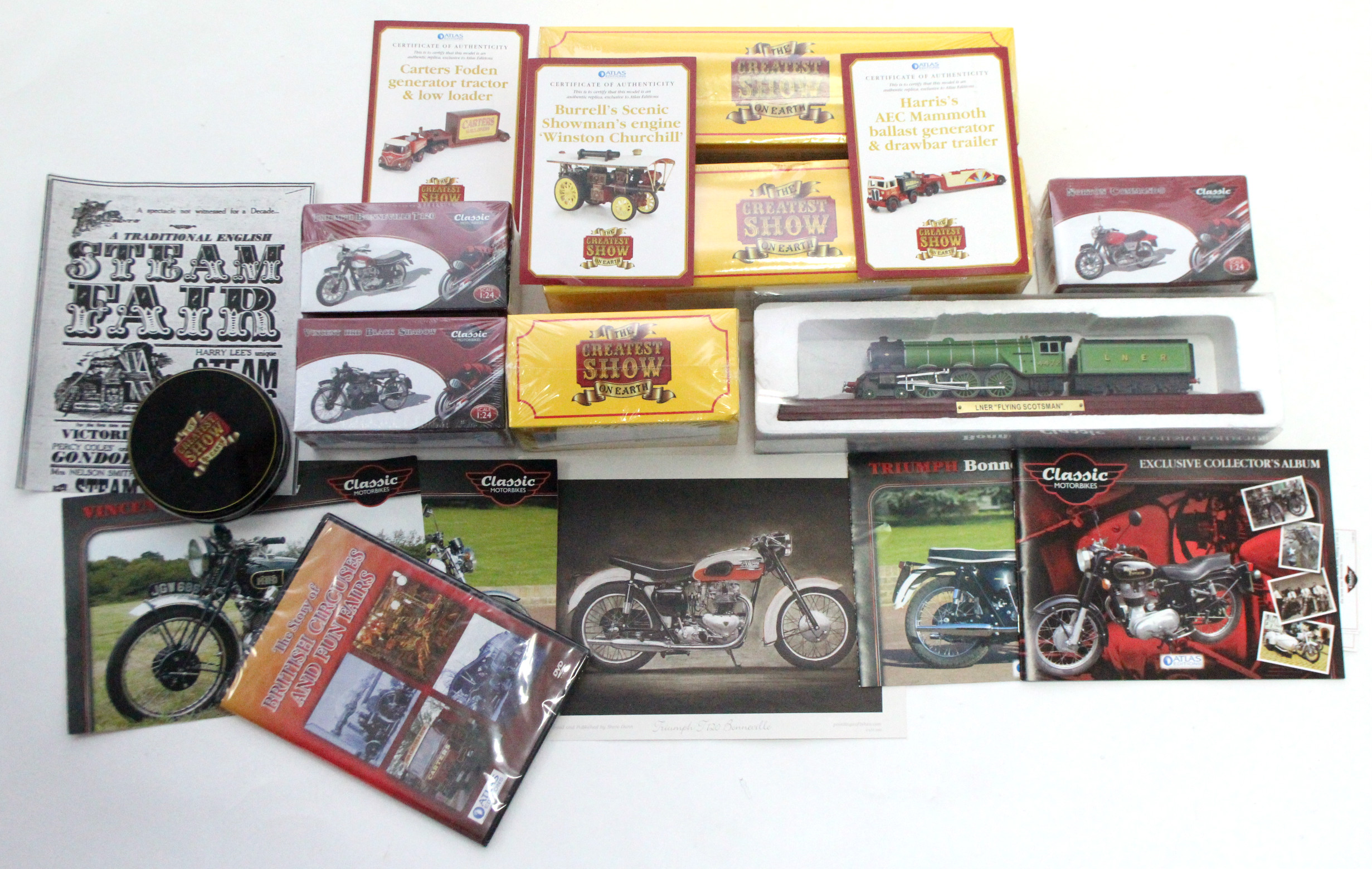 Lot 268 - Seven various modern scale vehicles, all boxed.