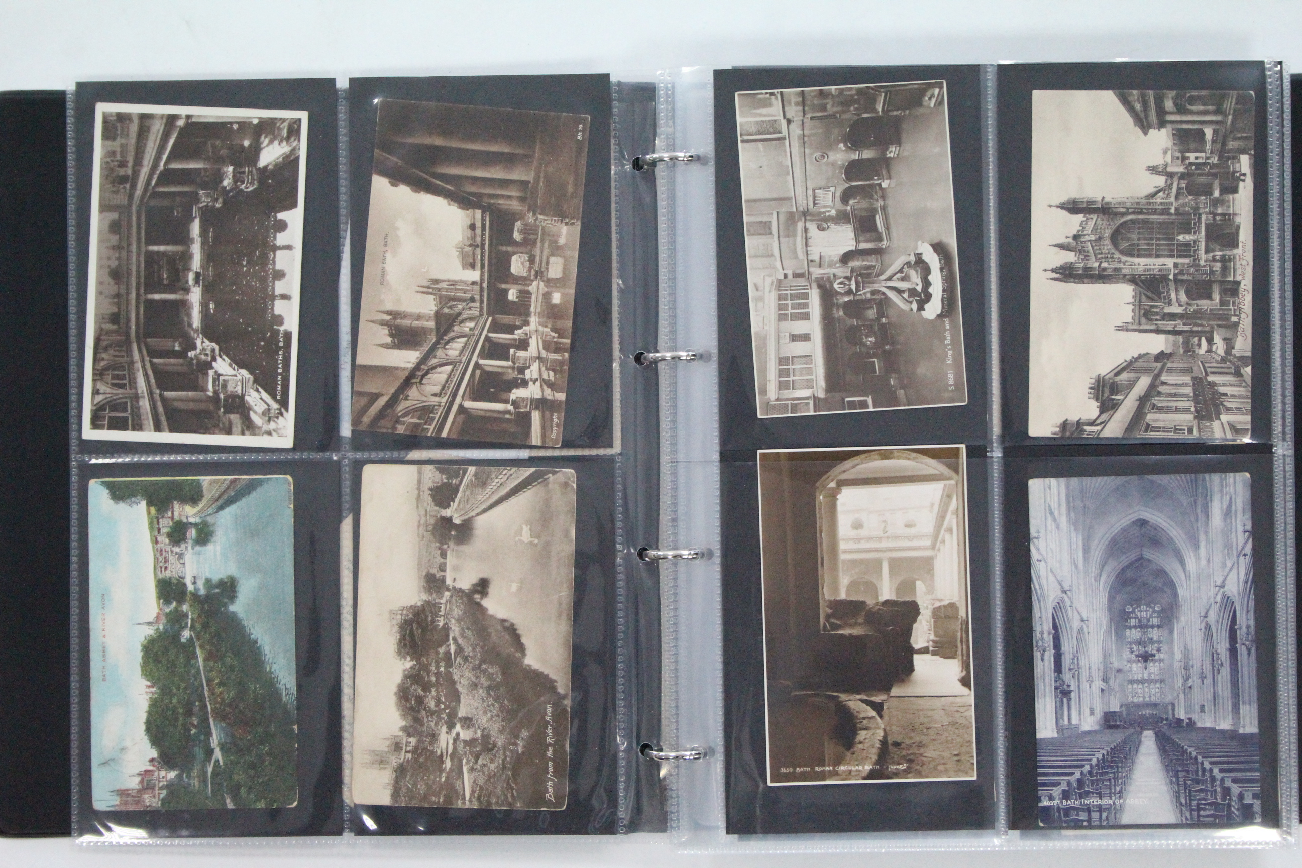 Lot 128 - AN ALBUM OF APPROXIMATELY ONE HUDNRED & SEVENTY POSTCARDS, EARLY-MID 20th CENTURY – BRITISH VIEWS