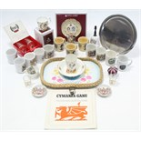 Various items of Royal commemorative ware.