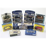 "Five Corgi Classics ""Pickfords"" removal vehicles; & eight various Lledo scale model vehicles, all"