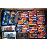 Approximately forty various Corgi scale model vehicles, all boxed.