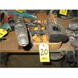 RYOBI CORDLESS DRILL W/CHARGERS AND BATTERIES