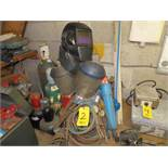 OXYACETYLINE TORCHES, AIR LINES, GAUGES, TANKS, SHIELDS AND MISC.