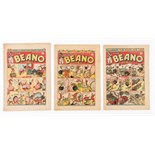 Beano (1943) 204, 205, 206. Propaganda war issues. Pansy Potter invades Berlin! 204: Hitler cover [