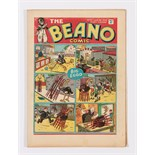 Beano No 27 (1939). Bright fresh covers, some small blemishes to cover margin, cream pages [vfn-]