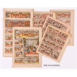 Tiger Tim's Weekly (1921-38) 11 issues including Xmas 1925 with Chips (1946-53) 28 issues comprising
