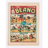 Beano No 25 (1939). Bright, fresh covers, cream pages [vfn-]