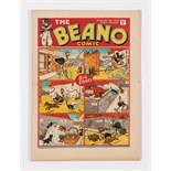 Beano No 20 (1938). Bright, fresh covers, cream pages. Only a few copies known to exist [vfn]