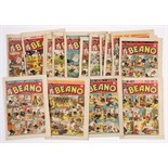 Beano (1944) 222-248. Complete year published fortnightly. 222: First Jimmy and his Magic Patch,