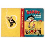 Dandy Monster Comic (1948). Korky the Puppeteer. Bright boards and spine, light/medium corner and
