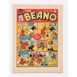 Beano No 17 (1938). Bright fresh covers, cream pages, slight creasing to 2 interior pages. Only a