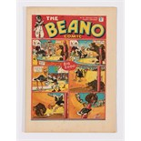 Beano No 18 (1938). Bright fresh covers with some slight ink dust residue, cream pages. Only a few