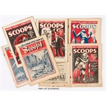 Scoops (1934) 1-20. Complete run. Britain's first science fiction weekly by C Arthur Pearson.
