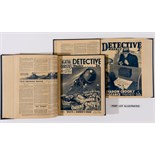 Detective Weekly (1934-36) 46-201. Three complete years in three bound volumes. Murder On The Orient