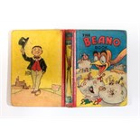 Beano Book 2 (1941). Big Eggo hatches Beano characters. Good boards with touched in, rounded