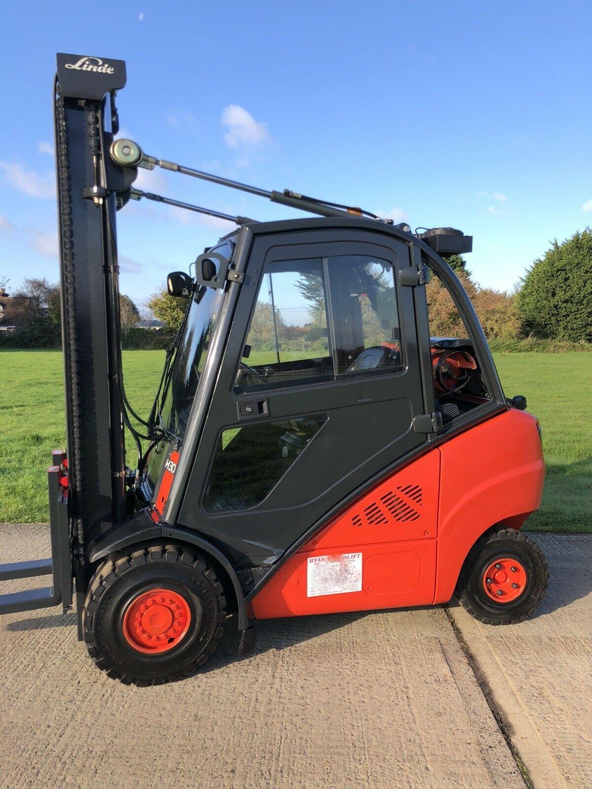 Linde H30t Gas Forklift