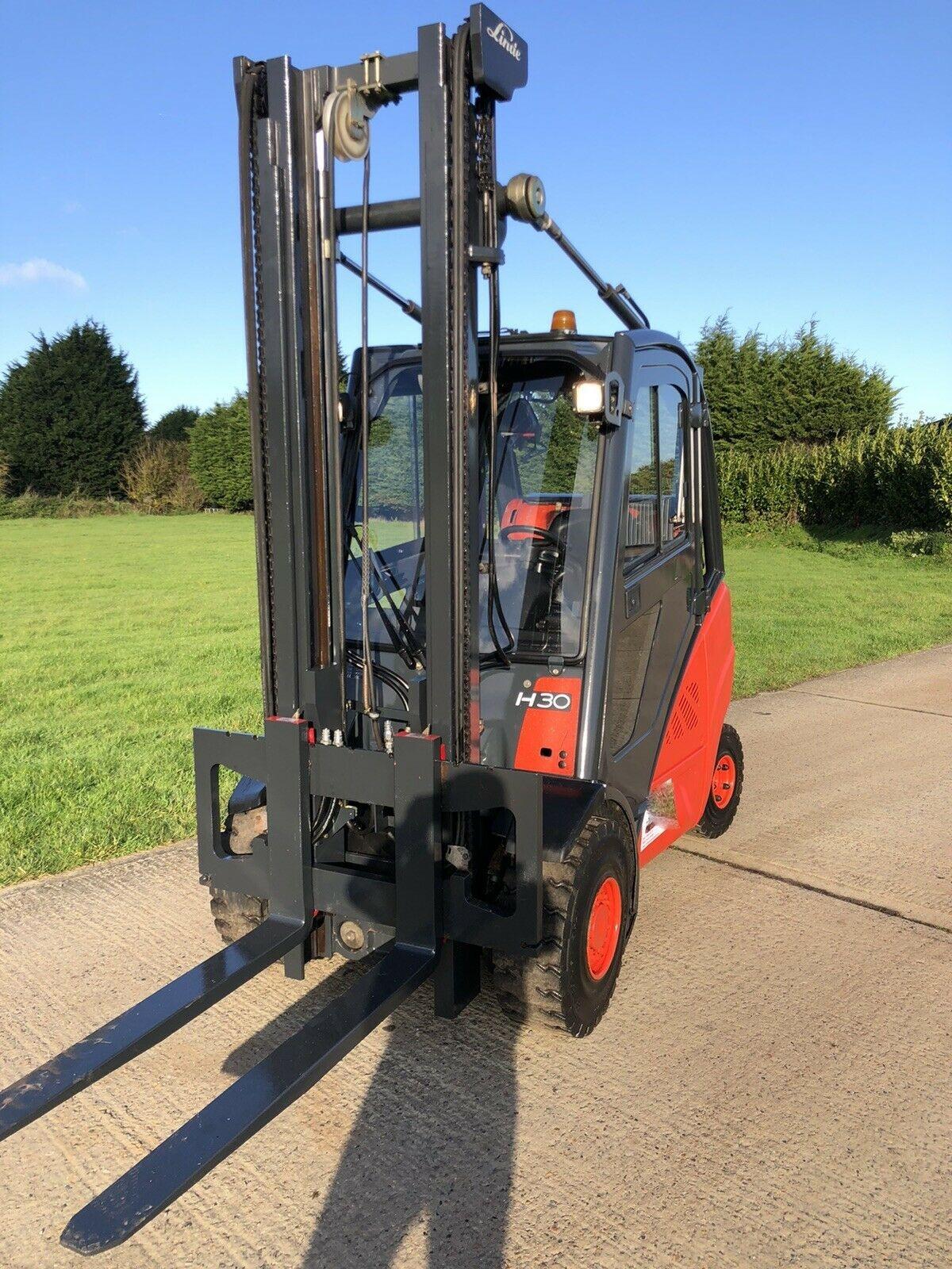 Linde H30t Gas Forklift - Image 2 of 7