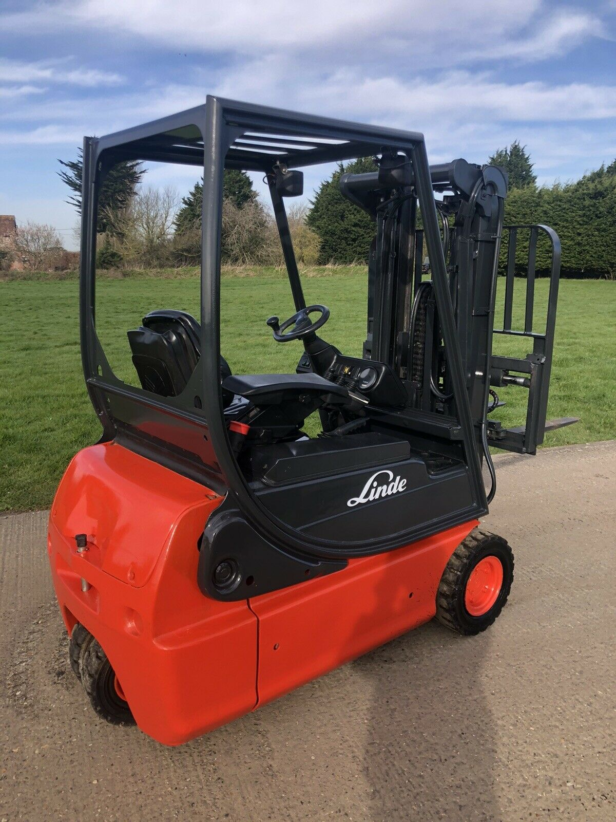 Linde Electric Forklift Truck E16 - Image 2 of 4