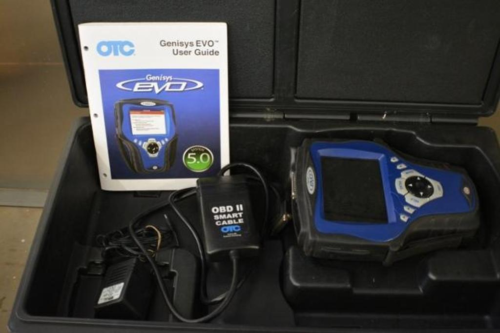 Otc Genisys Evo Diagnostic Scanner With Obd Ii Smart Cable