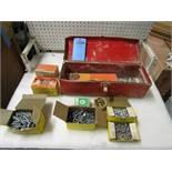 Tool Box with Hilti Air Nails