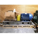 125 hp motor c/w parts for Durco Circulation Pump