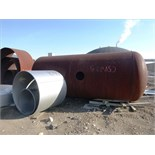 "Tail Gas Knock-out, Vertical pressure vessel c/w skirt, Volume - 1081 ft3, Diameter - 108"" I.D.,"