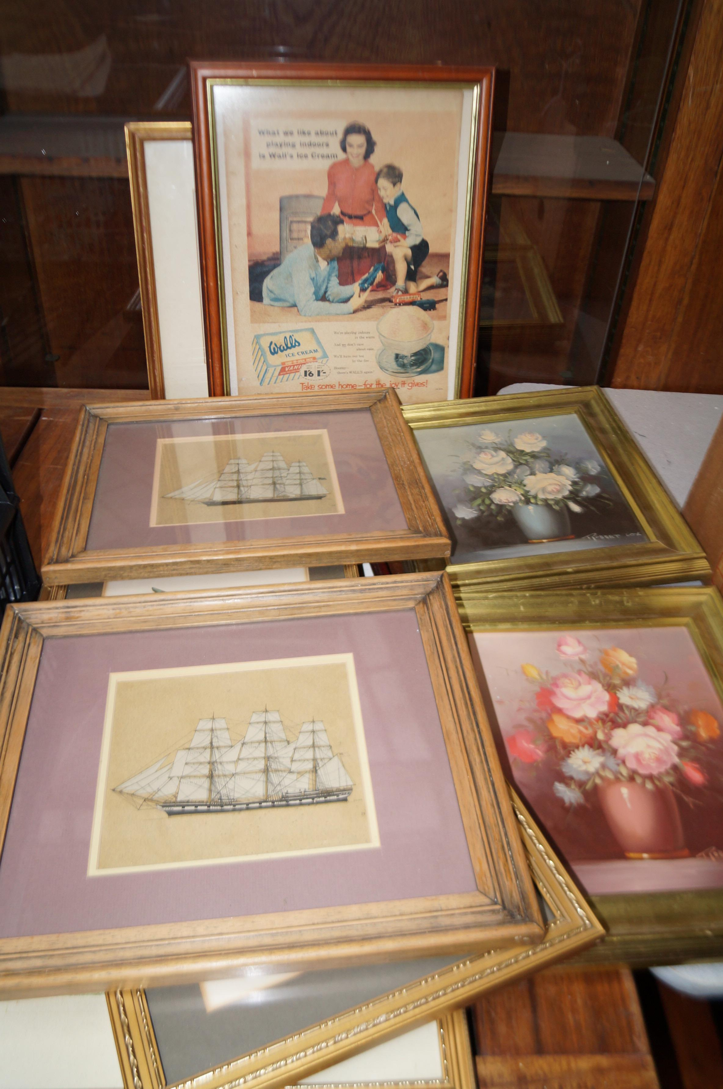 Lot 5 - Group of paintings & pictures to include a Walls i