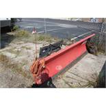 BOSS 9' SUPER TRIPEDGE PLOW BLADE SKIDSTEER ATTACHMENT HYD TURNING