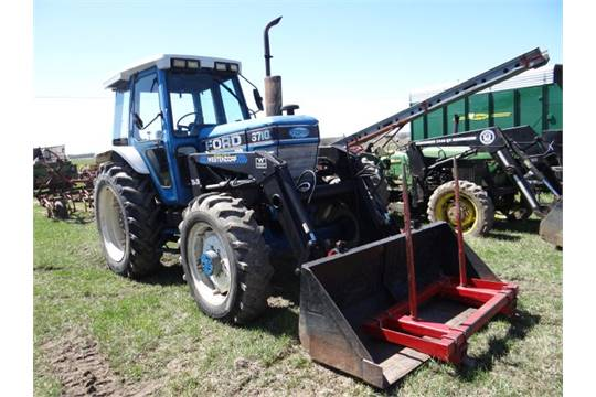 Lot 3291 Ford 6710 Tractor 3712 hrs, 70hp, 4wd, Cab, 540 PTO, w