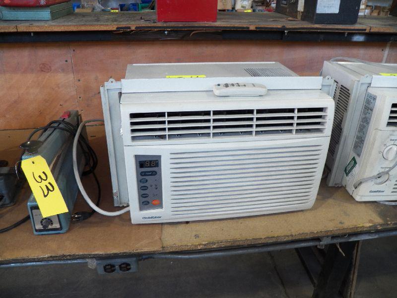 Goldstar Model Gwhd6507r 6500 Btu Window Air Conditioner