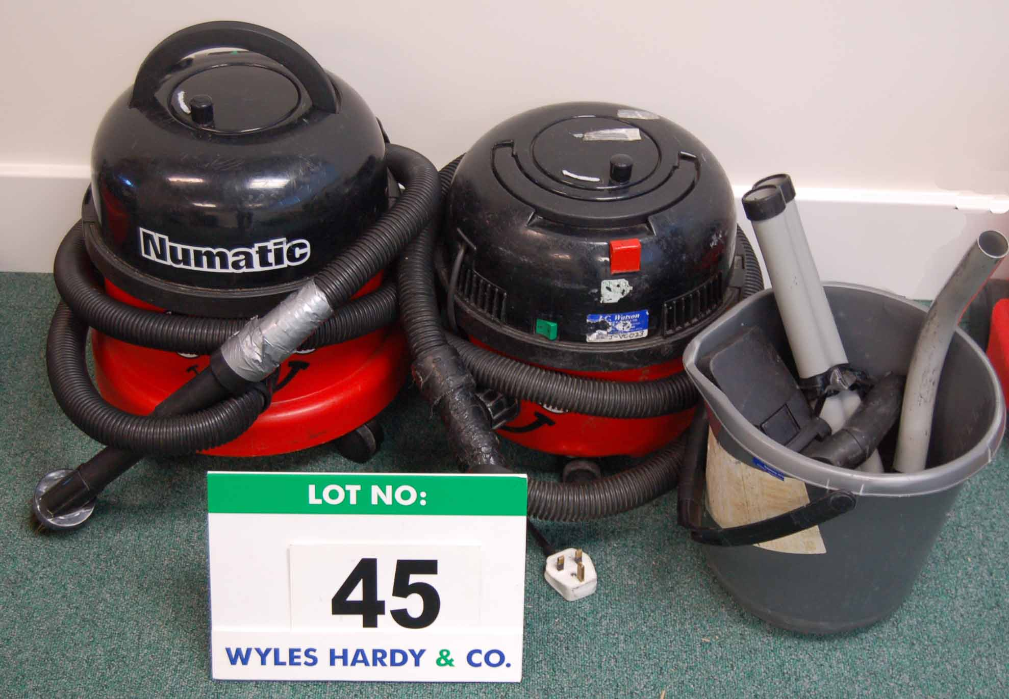 Lot 45 - Two NUMATIC Henry Vacuum Cleaners and Accessories (As Photographed)