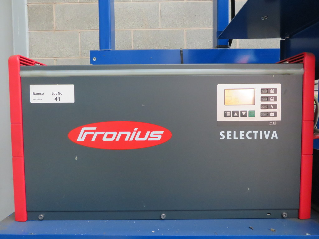 Lot 41 - FRONIUS SELECTIVA 4090 8KW - 48V BATTERY CHARGER; SERIAL NO 28166145