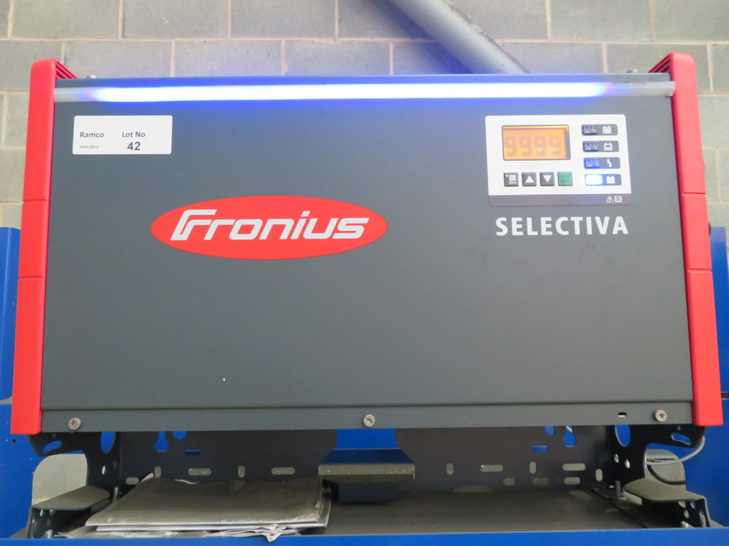 Lot 42 - FRONIUS SELECTIVA 4090 8KW - 48V BATTERY CHARGER; SERIAL NO 28166149