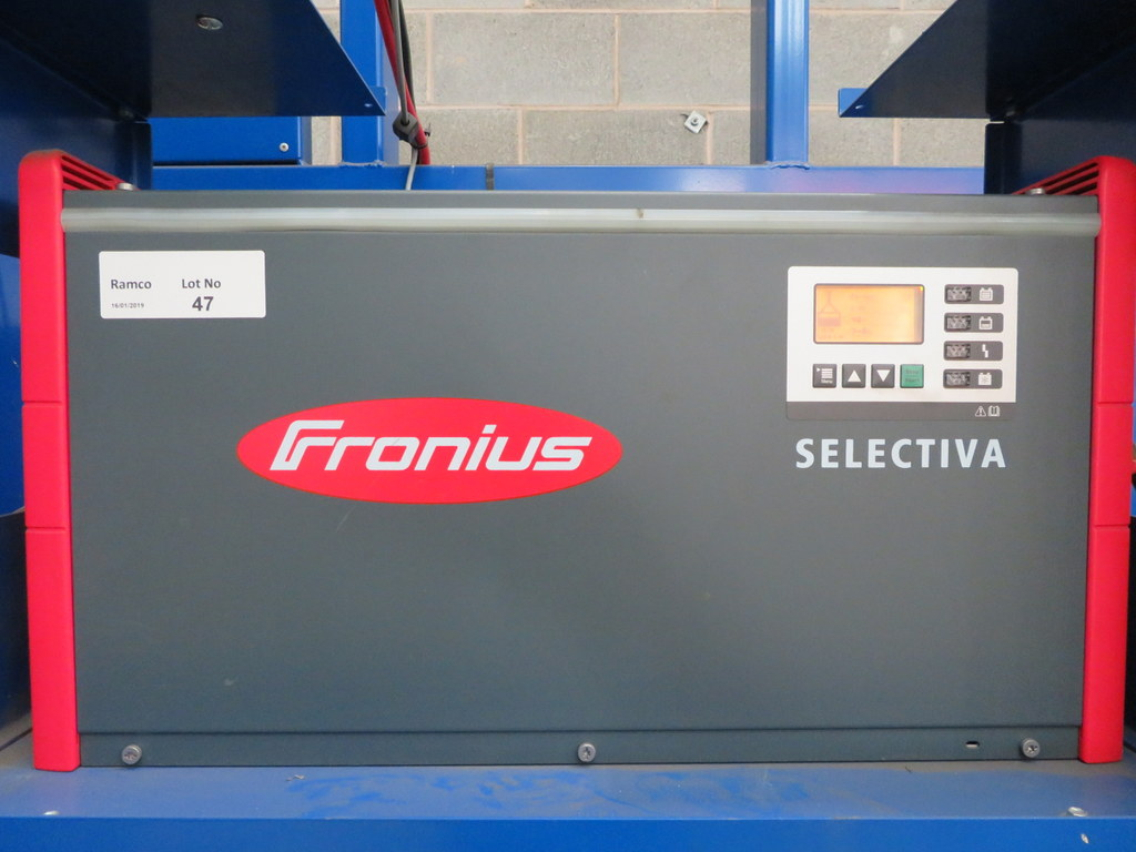 Lot 47 - FRONIUS SELECTIVA 4090 8KW - 48V BATTERY CHARGER; SERIAL NO 28166151