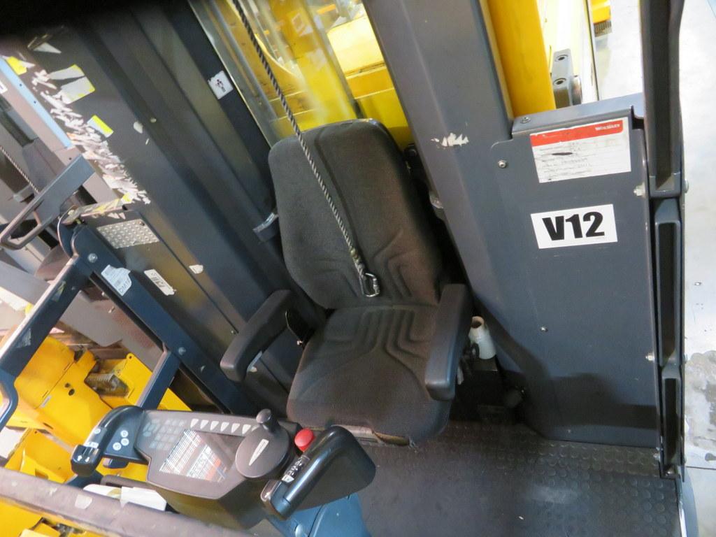 Lot 18 - 2008 JUNGHEINRICH MODEL EKX 515 1500KG ELECTRIC HIGH RACK STACKER TRUCK