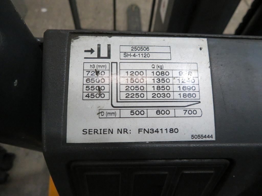 Lot 14 - 2006 JUNGHEINRICH MODEL EFG 425K 2250KG ELECTRIC CB FORKLIFT TRUCK