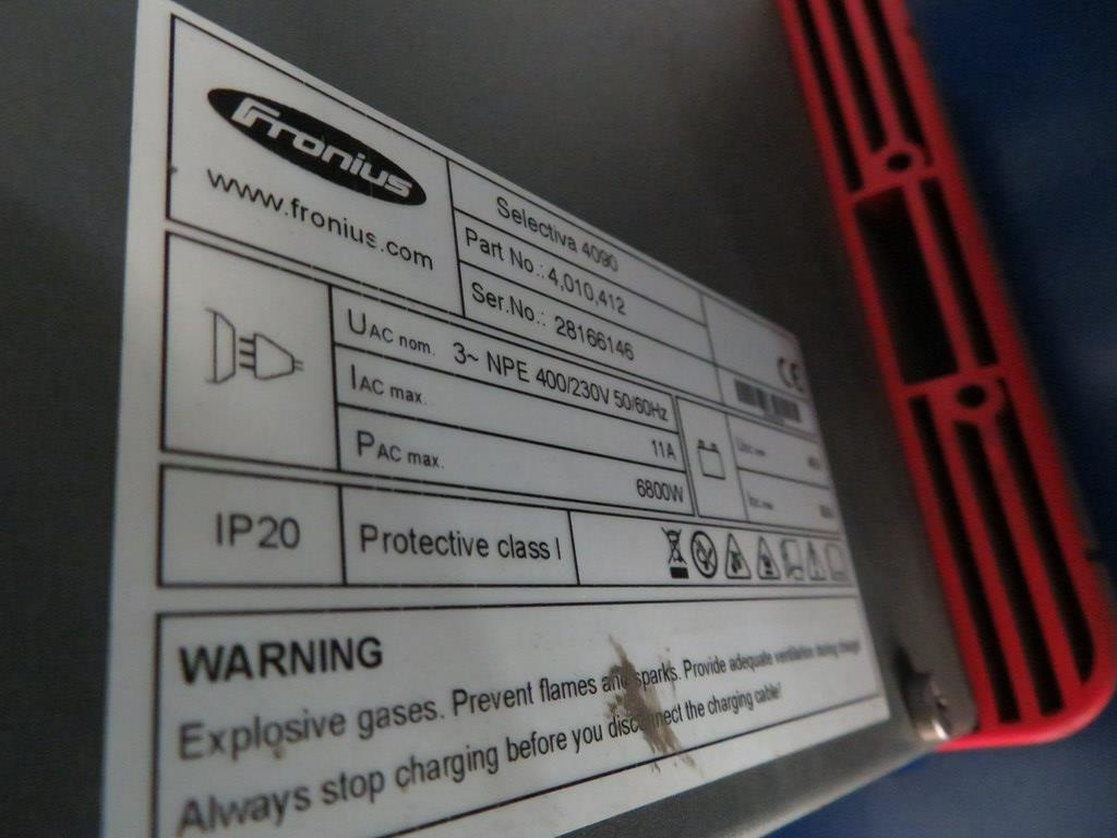 Lot 43 - FRONIUS SELECTIVA 4090 8KW - 48V BATTERY CHARGER; SERIAL NO 28166146