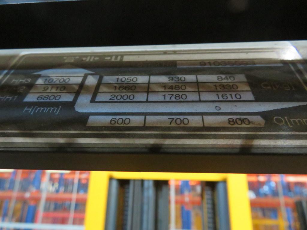 Lot 5 - 2006 JUNGHEINRICH MODEL ETV 320 2000KG ELECTRIC REACH TRUCK
