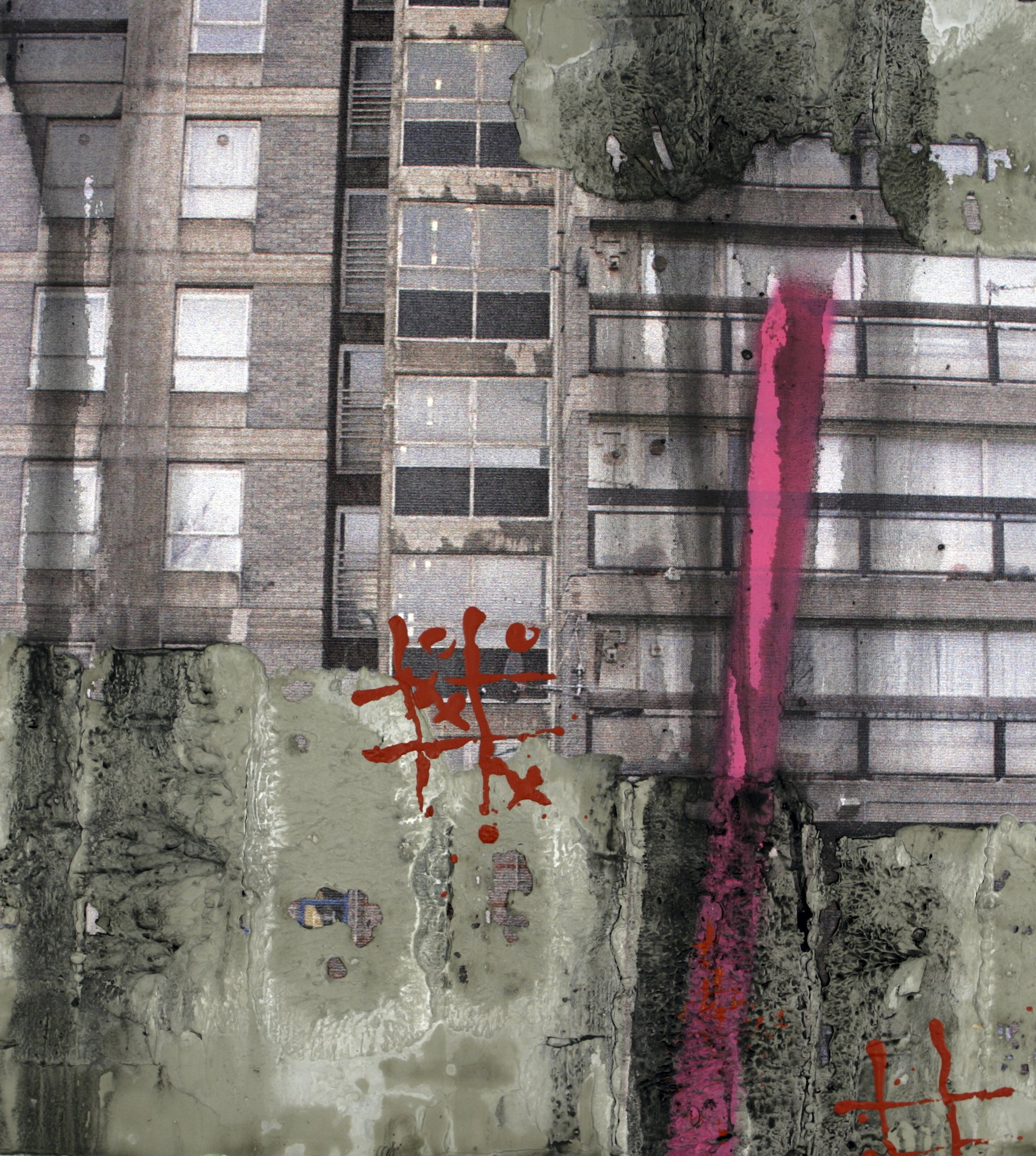 'Study for Durrington Towers I' by David Hepher