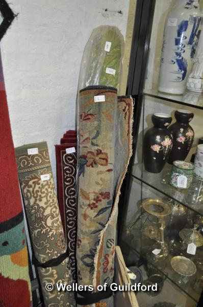 Lot 7629 - Four assorted rugs
